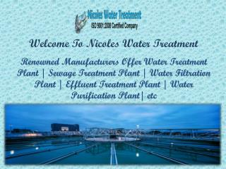Waste Water Treatment Plant in Faridabad