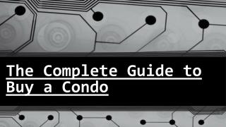 Follow These Points Before Buying a Condo