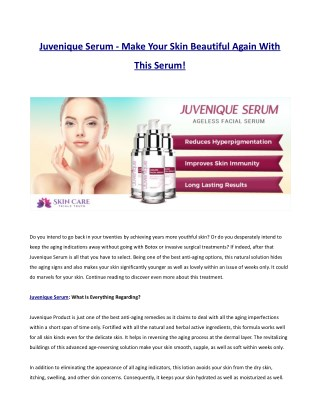 http://auvelacreamreviews.com/juvenique-serum/