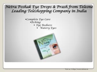 Netra Poshak Eye Drops for Complete Eyes Problems from Teleone