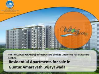Residential Apartments for sale in Guntur,Amaravathi,Vijayawada