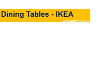 Buy Dining Table Online NZ