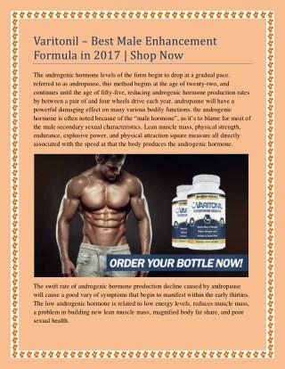 Varitonil – Best Male Enhancement Formula Shop Now