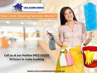 How Local Cleaning Services Works
