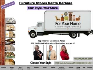 Furniture Stores Santa Barbara