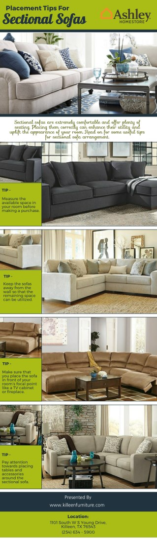 Placement Tips For SectionalSofas