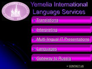 Yemelia International Language Services