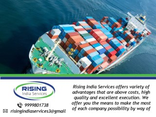 Top India Export Products By Rising India Services