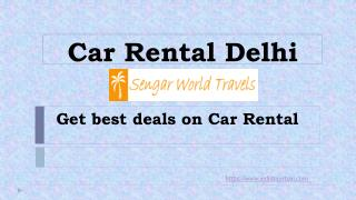 Tourist Car Rent in Delhi - Delhi Sightseeing Tour