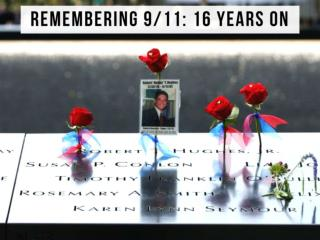 Remembering 9/11 victims at the Staten Island Postcards Memorial 16 years later