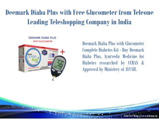 Deemark Diaba Plus with Free Glucometer from Teleone