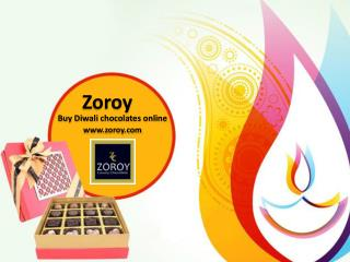 Buy Affordable Diwali Chocolates Gifts Online @ Zoroy