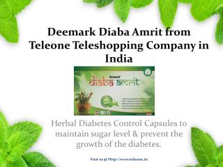 Deemark Diaba Amrit - Diabetes Control Medicine by Teleone