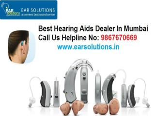 Ear Solution Is Ultimate Hearing Aids Dealer in Mumbai | Supplier | Accessories