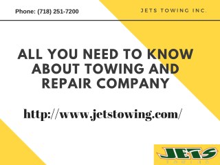 Heavy Duty Truck Towing And Repair