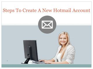 How to Fix Issue while Creating New Hotmail Account