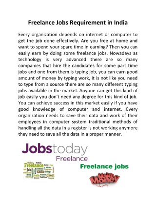 freelance instructional designer jobs india
