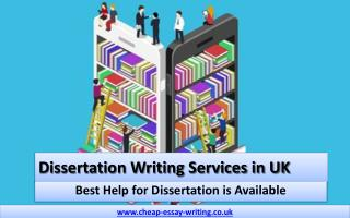 Dissertation Writing Services in UK - Best Help for Dissertation Available