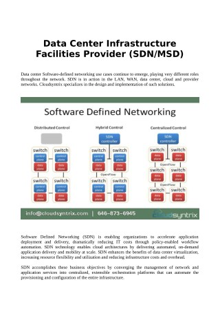 Data center facilities providers in NYC