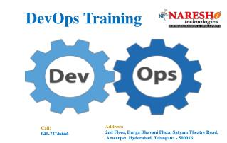 Devops Training - Devops Training in Hyderabad - Nareshit