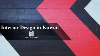 Interior Design in Kuwait-HM Designs