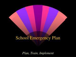 School Emergency Plan