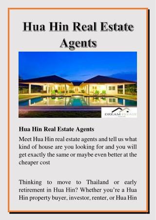 Hua Hin Real Estate Agents