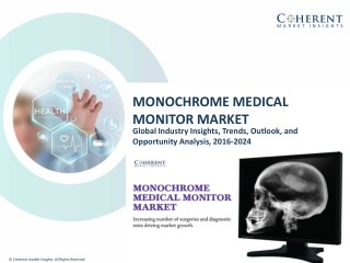 Monochrome Medical Monitor Market - Industry Analysis, Size, Share, Growth, Trends and Forecast to 2024