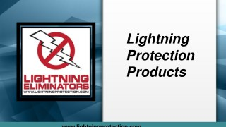 Lightning Protection Products You Can Trust