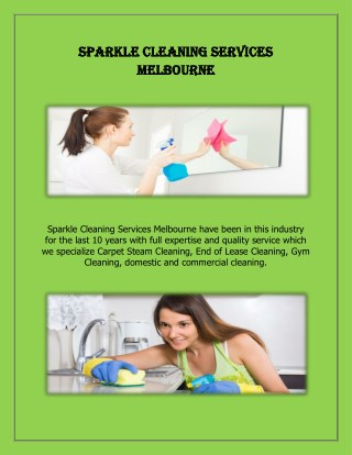 Office Cleaners Melbourne - Sparkle Office