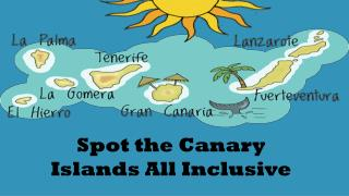 Spot the Canary Islands All Inclusive
