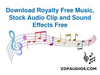 Royalty Free Music Download Free