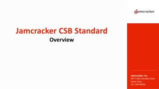 Jamcracker Cloud Service Brokerage (CSB) Standard: Benefits for Cloud Service Brokers & Microsoft CSP Partners