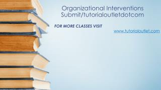 Organizational Interventions Submit/tutorialoutletdotcom