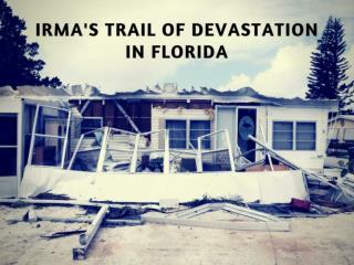 Irma Leaves Trail Of Destruction Through Florida
