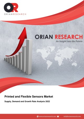 Printed and Flexible Sensors Market Supply, Demand and Growth Rate Analysis 2022
