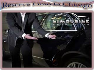 Reserve Limo In Chicago
