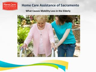 What Causes Mobility Loss in the Elderly
