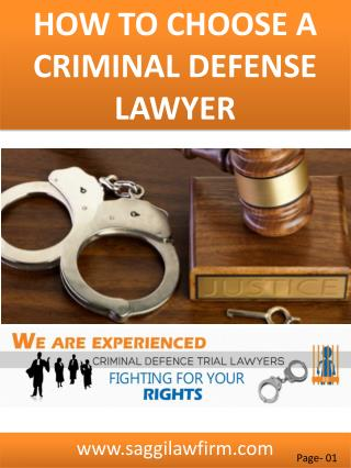 What Does A Criminal Defense Lawyer Do