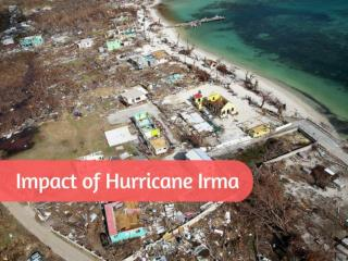 Hurricane Irma and its impacts