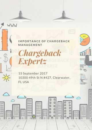 The Importance of Chargeback Management Services