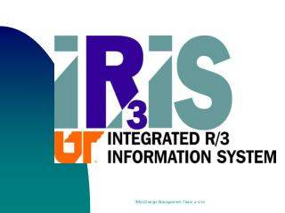 IRIS Change Management Team 4
