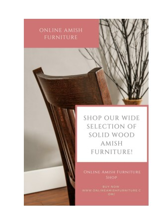Online Amish Furniture: Amish Furniture - Beautiful Solid Wood Furniture