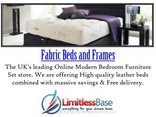 Amazing Fabric Bed   Limitless Base