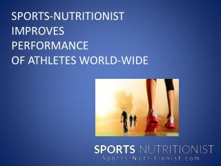 Sports Nutritionist In Florida