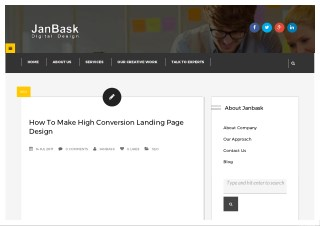 How To Make High Conversion Landing Page Design