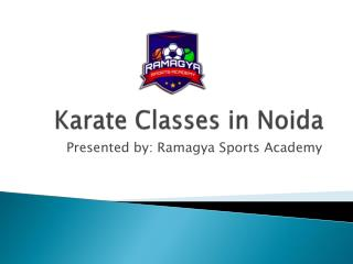 How you can find Best Karate classes in Noida Location