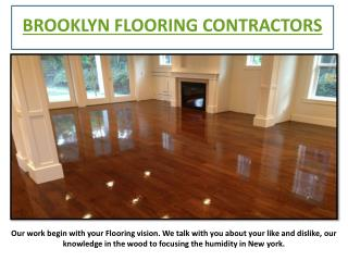 Brooklyn Flooring Contractors