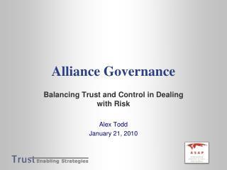 Alliance Governance
