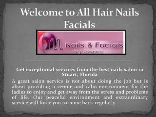 Facials Salon Jensen Beach Florida - Hairnailsfacials.com
